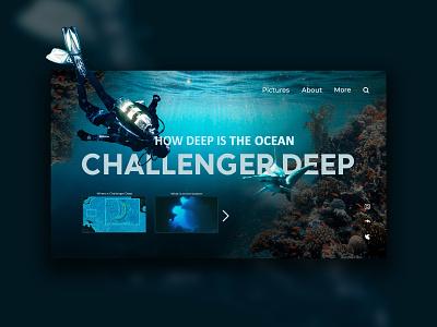 challenger deep designs web design ux design uxdesign uidesign website ux uiux uxui uiuxdesign design web ui