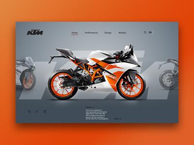 ktm website design ktm user experience userinterface webdesign web design ux design website uxui uiuxdesign uiux design web ux ui