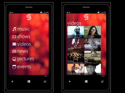Soundcity for Windows Phone
