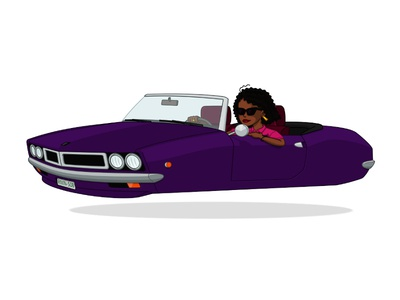Flying Car (girl)