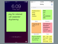 Sticky for iOS