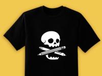 Illustrator cross bones t-shirt