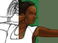Fulani Archer Girl