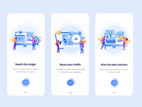 Onboarding screen animation project management tool onboarding illustration onboarding screens onboarding screen protopie