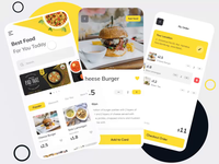 Food delivery app prototyping protopie prototype animation motion graphic ui ux food delivery app prototyping prototype mobile app