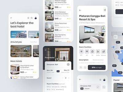 Hotel Booking App vacation travel app hotel app ui ux mobile app hotel booking app hotel booking