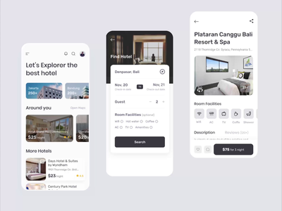 hotel booking app animated prototyping protopie animation prototyping hotel booking app hotel booking