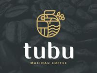 Tubu Coffee - Monoline logo