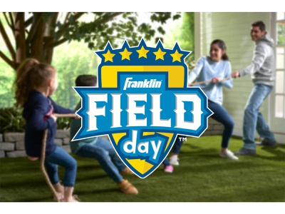 Franklin Field Day Logo franklin field day franklin sports sports design youthful youth sports process and design graphic designer logotype branding and identity logosai logo design learn logo design brand design visual identity logomark brand identity brand logos logo branding
