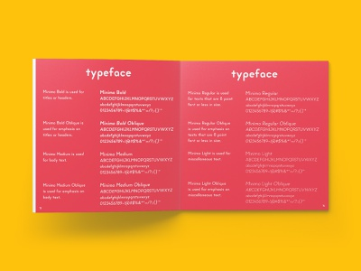 NSNY Typeface (Minimo) type design fonts minimo branding brand brand identity visual identity typography brand design design brand guide identity style guide brand guidelines process design process print design branding design identity design typeface identity manual