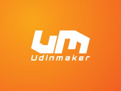 UM alphabet logo watermark