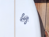 Ohayo wordmark detail