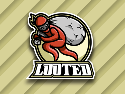 Looted Gaming Branding