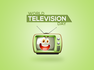 world television day branding art typography logodesign illustration design illustration art graphics ux vector ui @daily-ui @2x @animation