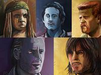 Walking Dead Portraits