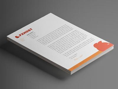 FXHost Letterhead designer designs letterheads letterhead design letter graphics graphic design logos logo design logo watercolour gouache illustrator drawing artist photoshop painting design art illustration