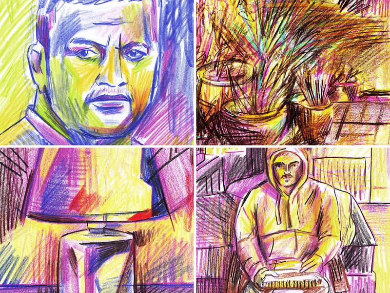2020 Sketchbook Update portrait art portrait landscape fine arts fine art drawingart drawings draw sketchbook sketching watercolour gouache illustrator drawing artist photoshop painting design art illustration