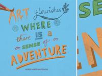 Typographic Illustration: UKScouts