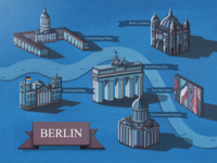 Berlin Illustrated Map