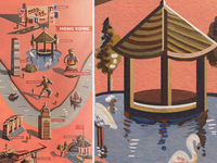 Hong Kong Illustrated Map