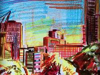 Melbourne, Australia Sketch