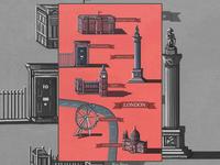 London Illustrated Map