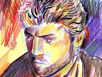 George Michael Sketch