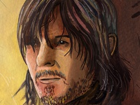 Daryl Dixon - The Walking Dead Portrait