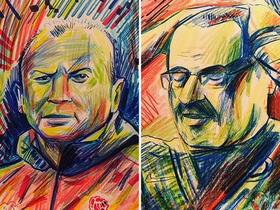Sporting Stars Sketches