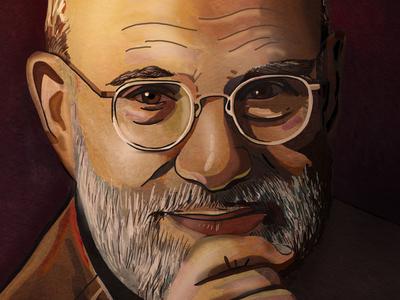 Oliver Sacks Illustration