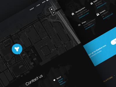Elastica - contact contact elastica map contact us headquarters press careers black blue