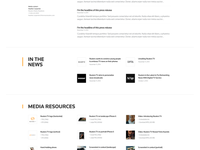 Reuters TV : Updates reuters tv premium ads press audience specs contact keynote news press release media