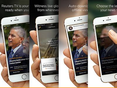 Reuters TV : App Store screenshots reuters live screenshots app store choose length auto-download obama