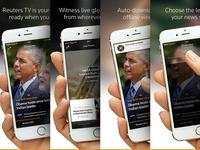 Reuters TV : App Store screenshots