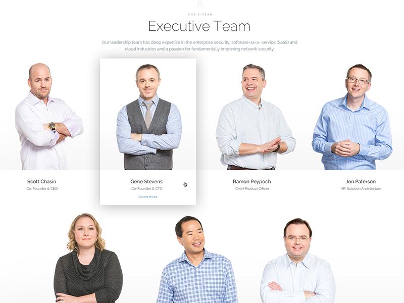 Protectwise : Executive Team twitter linkedin team people executive directors enterprise security board group cloud zen