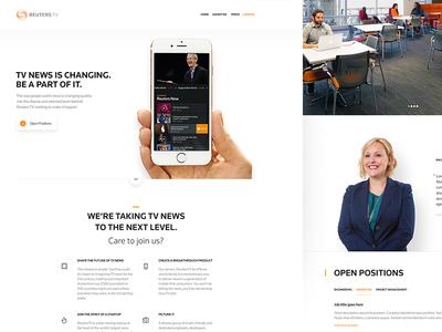 Reuters TV : Careers app news reuters hr careers jobs