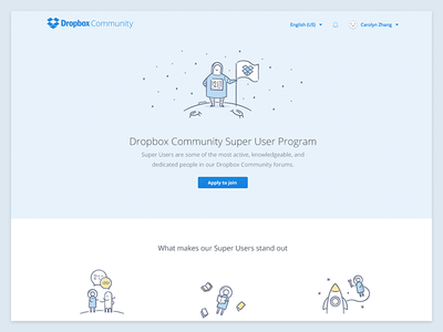 Dropbox Community : Super Users help forum space user super community dropbox