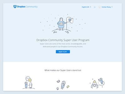 Dropbox Community : Super Users help forum space user super community dropbox