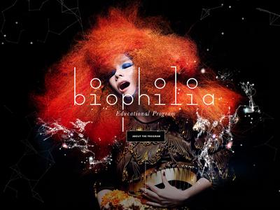 Björk : Biophilia dark program iceland ipad educational education kids music biophilia bjork björk