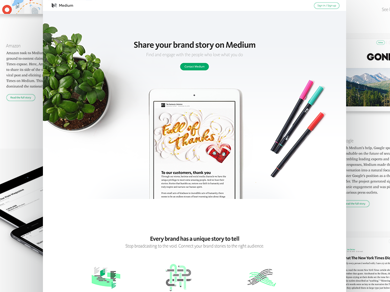 Medium : Brands
