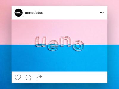 Ueno : Instagram ueno 3d printer printer branding instagram