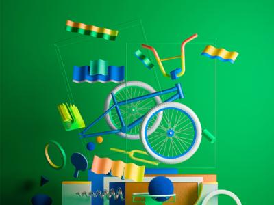Ueno Rebrand : Bike.
