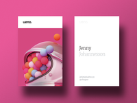 Ueno Rebrand : Business cards #1