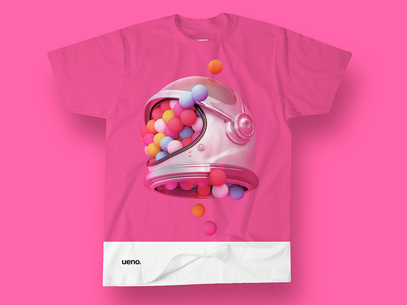 Ueno Rebrand : T-Shirt #2