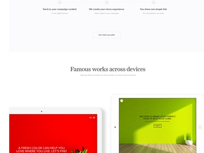 Famous : Industry pages tablet decoration layout simplicity picker color decor home famous