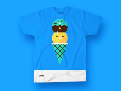Ueno Rebrand : T-Shirt #3