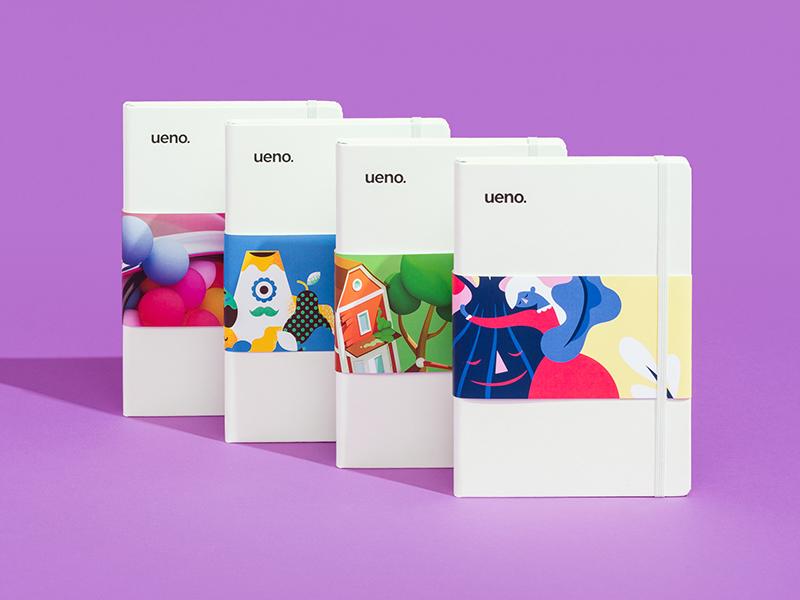 Ueno Notebooks.