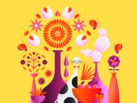 Ueno Branding : Flower Cat?