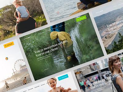 Chubb - Homepage Hero claim insurance chubb photography corporate hero