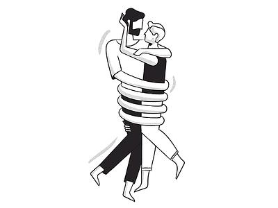 Happy Pride embrace hug love pride